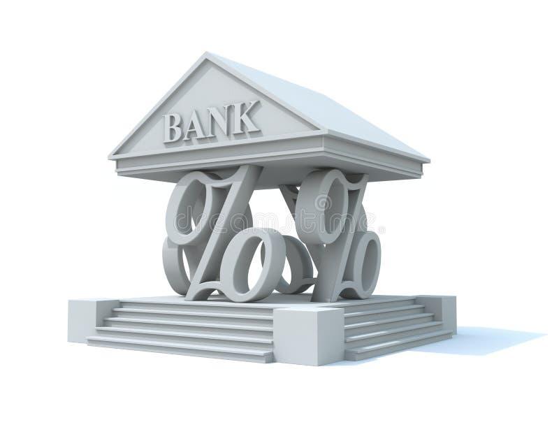 Pijlers van bankwezen vector illustratie
