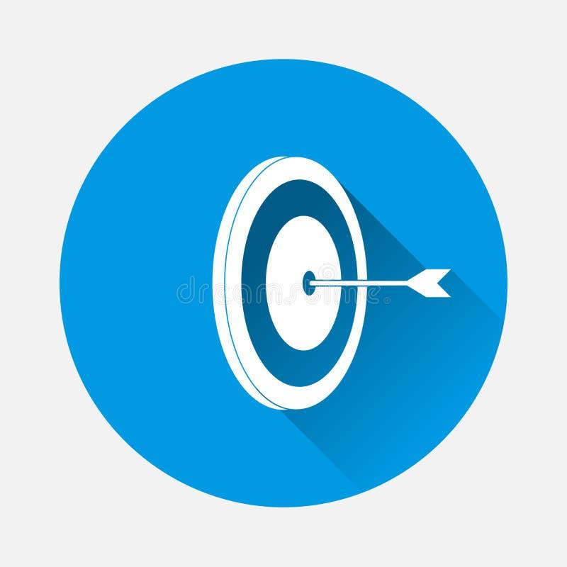 Pijltjes vectorpictogram E stock illustratie