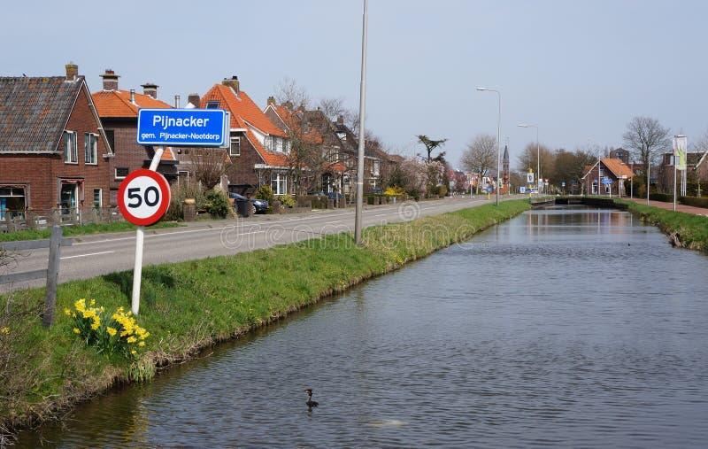 Pijnacker holandie fotografia royalty free