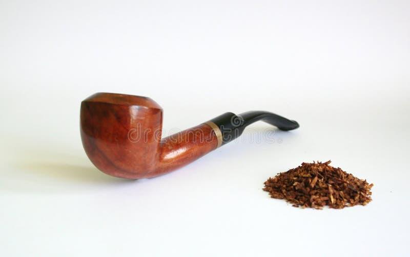 Pijp en tabak stock foto