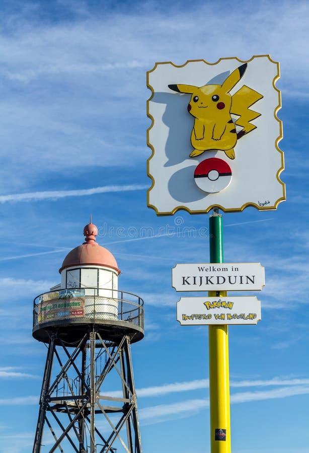 Pikachu Pokémon VA punto caldo fotografie stock