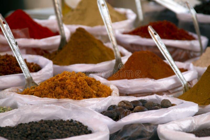 Pikantność bazaru Anjuna Indiański rynek Goa zdjęcie royalty free
