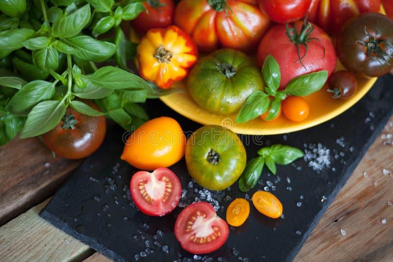 Pikantność i warzywa zdjęcia stock