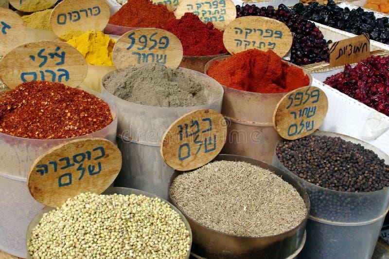 Pikantność na pokazie w Izraelita Rynku obrazy royalty free