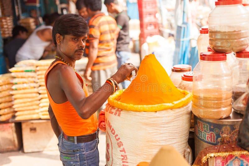 Pikantność sprzedawca, Kolkata zdjęcia stock