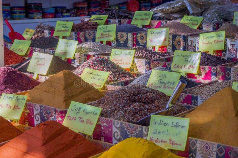 Pikantność w Tureckim bazarze obrazy stock