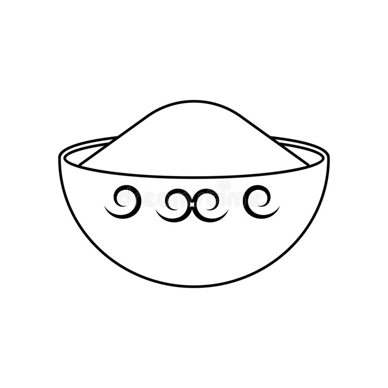 Pikantno?ci ikona E Kontur, cienka kreskowa ikona dla strona internetowa projekta i rozw?j, app royalty ilustracja