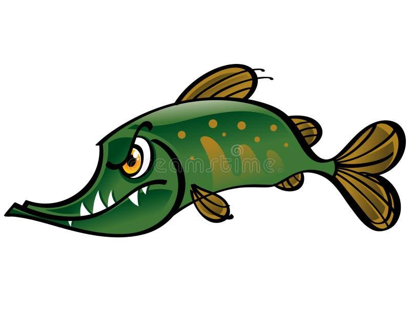 Pike ilustración del vector