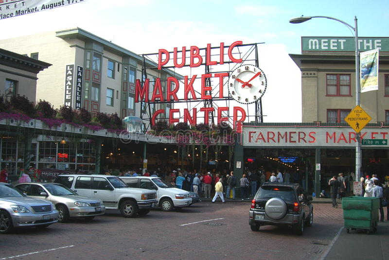 Download Pike Place Market - Seattle Editorial Stock Image - Image: 21218944