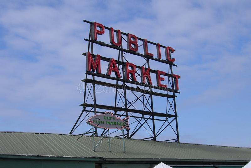 Download Pike Place Market - Seattle Editorial Photography - Image: 23251122