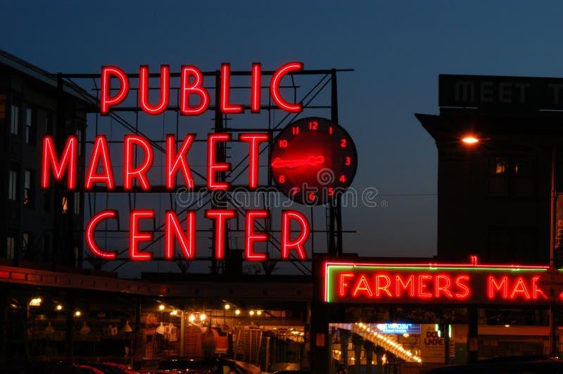 Pike-Platz-Markt lizenzfreie stockfotos