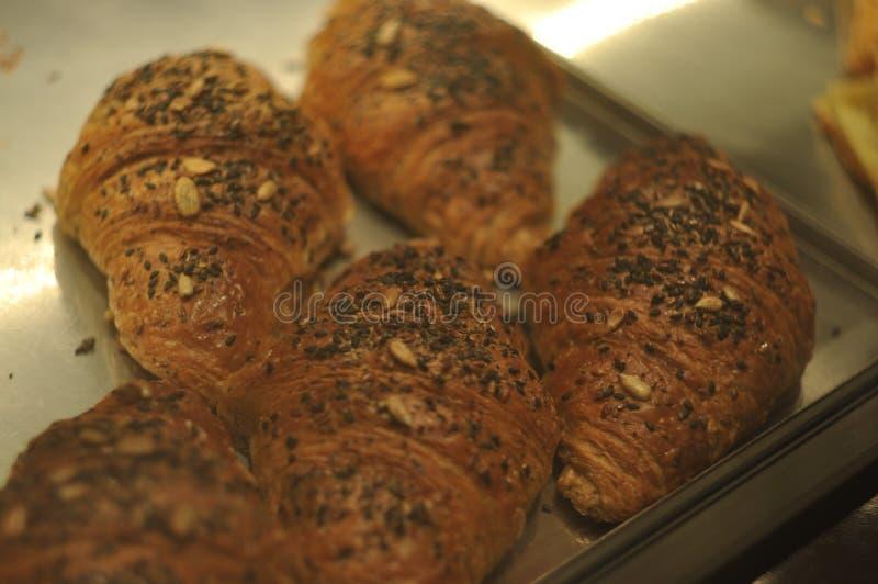 Pikelet doux avec des chips de chocolat images stock