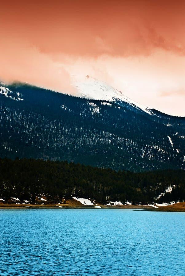 Download Pikes Peak Rocky Mountain Lake Stock Photo - Image: 12628592