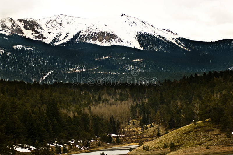 Download Pikes Peak Rocky Mountain Landscape Stock Photo - Image: 12628596