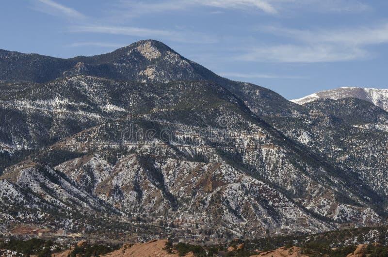 Pikes Peak view stock photos