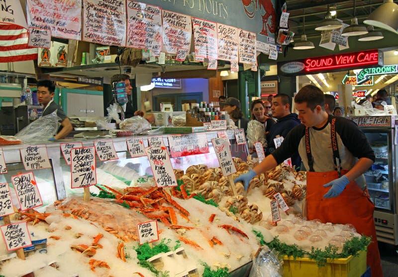Pikes Place Market a Seattle, WA fotografie stock