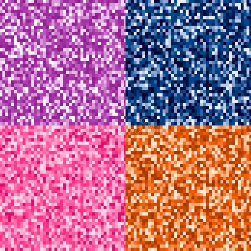 Piksel błyskotliwości tła ilustracja wektor