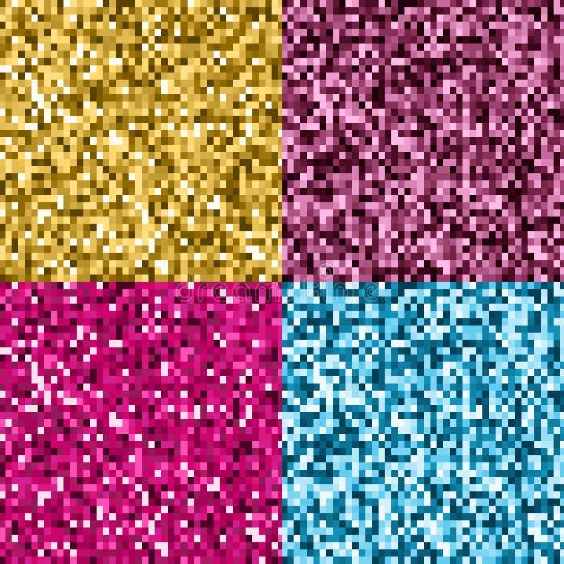 Piksel błyskotliwości tła royalty ilustracja