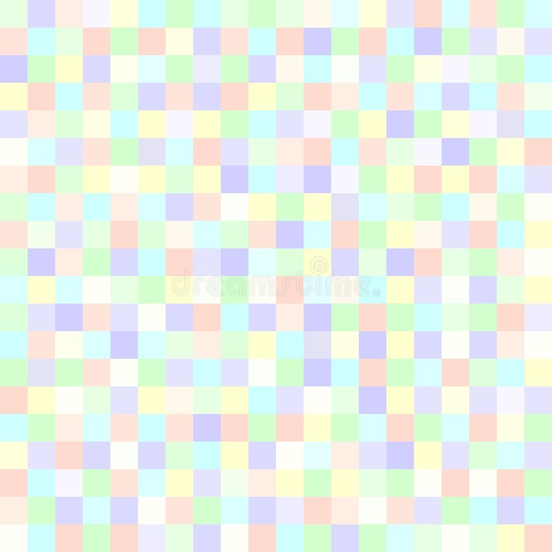 Piksla wzór Wektorowy bezszwowy piksel sztuki tło royalty ilustracja