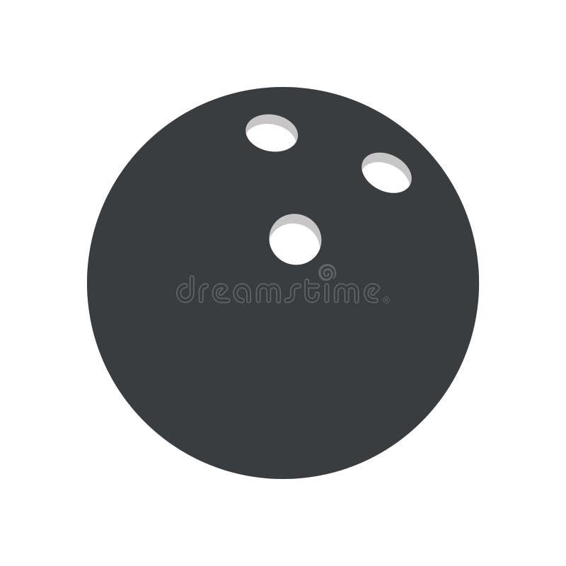 piktogram bowlling balowego sport ilustracji