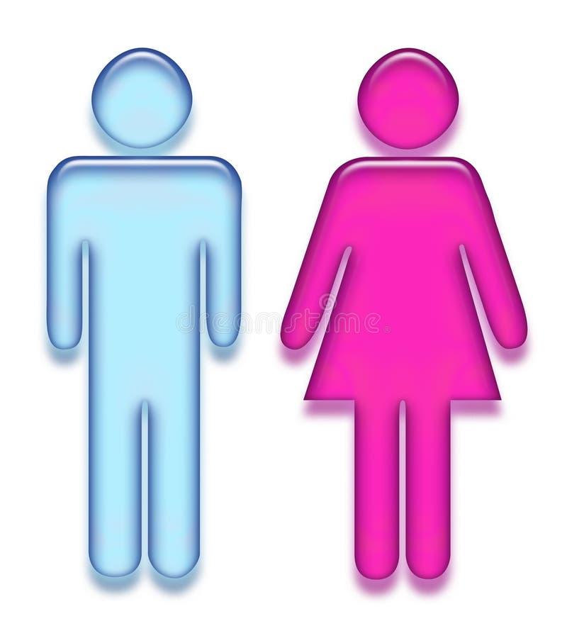piktogram płci ilustracja wektor