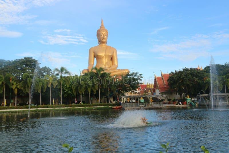 Pikulthong del tempio fotografia stock libera da diritti