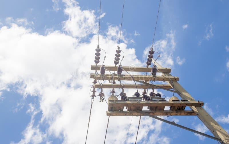 Pilão de ElElectricity foto de stock