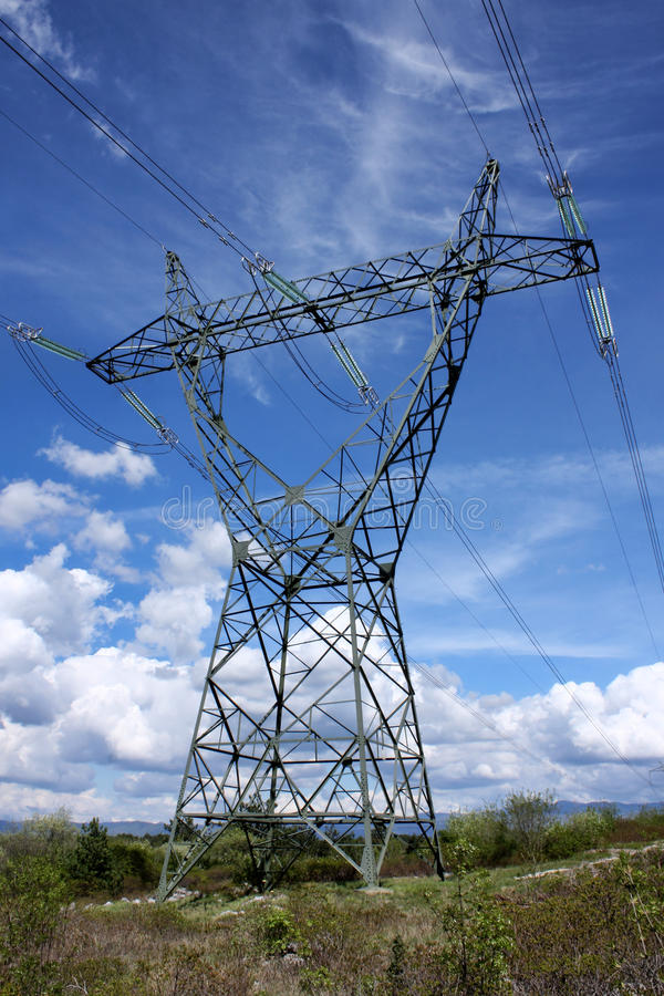 Pilão elétrico fotografia de stock