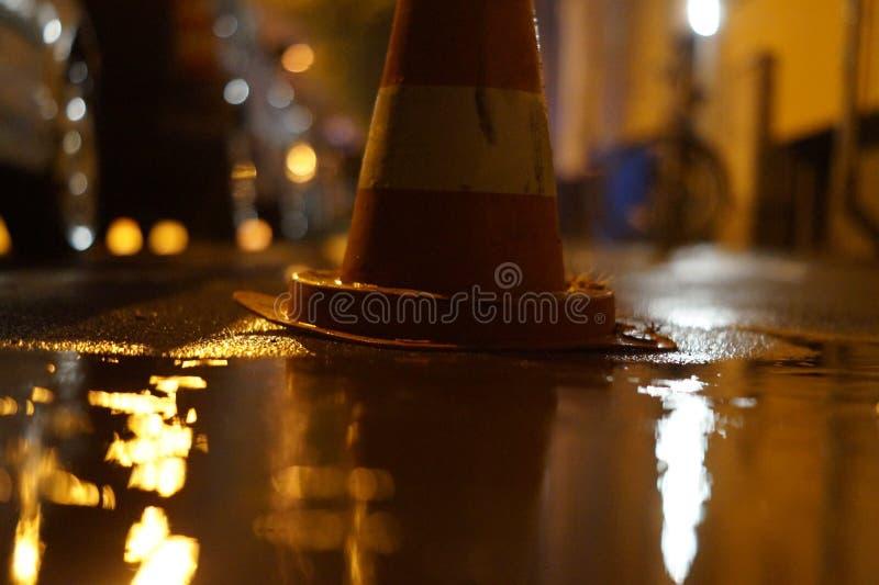 Pilón en un día lluvioso foto de archivo libre de regalías