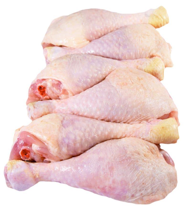 Pilões crus da galinha imagem de stock