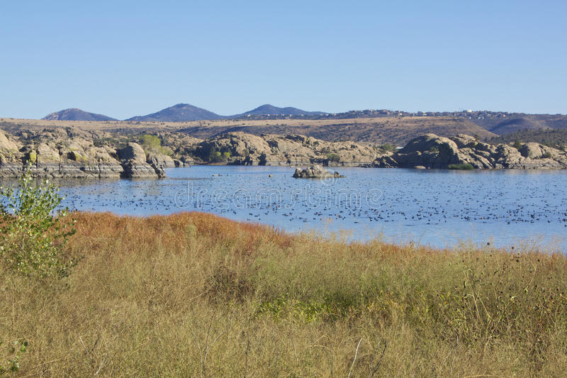 Pil LakePrescott AZ arkivbild