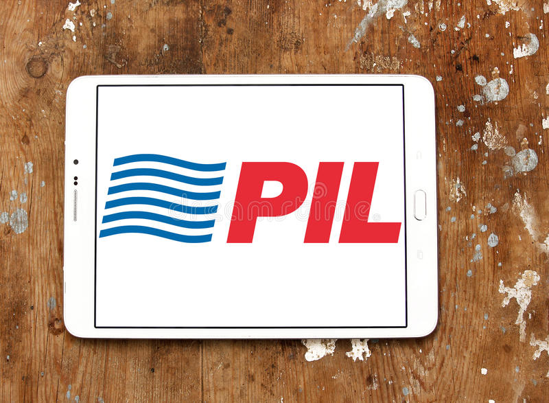 Pil shipping logo royalty free stock photography