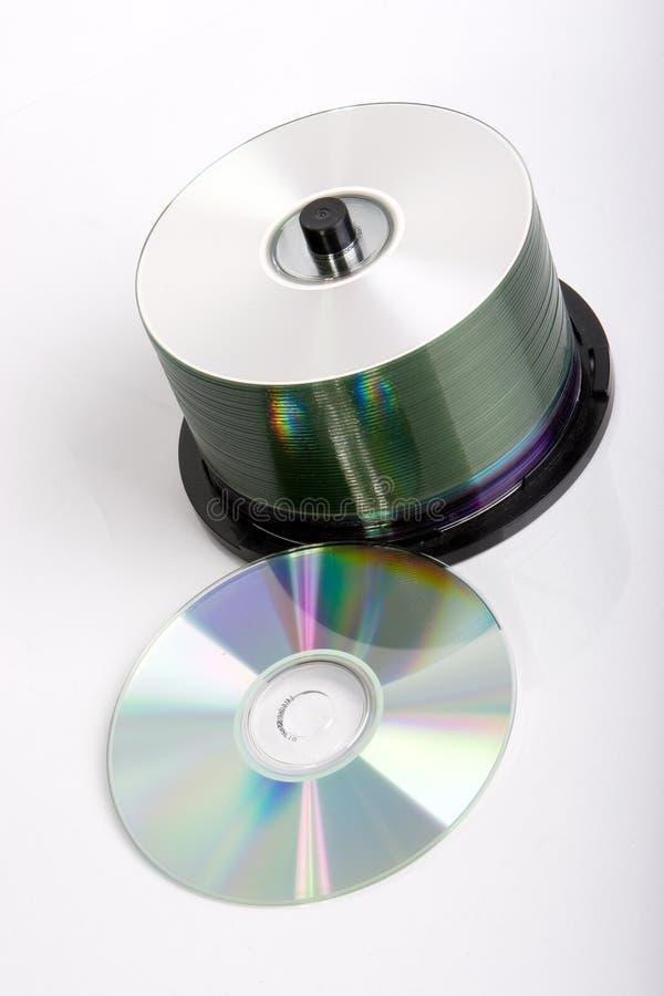 Pila CD imagen de archivo libre de regalías
