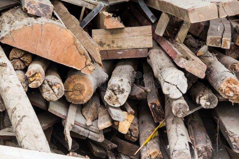 Pila de bambú imagenes de archivo