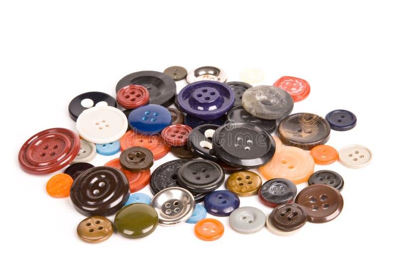 Download Pila de botones aislados foto de archivo. Imagen de cosa - 7285908