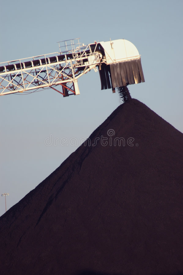 Pila de carbón, Detroit 2 foto de archivo libre de regalías