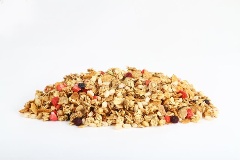 Pila de cereal colorido fotografía de archivo libre de regalías