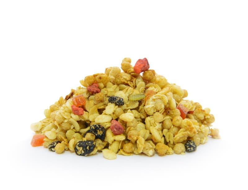 Pila de cereal orgánico fotografía de archivo