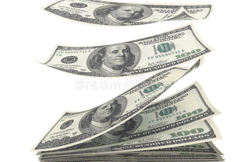 Pila de dinero imagenes de archivo