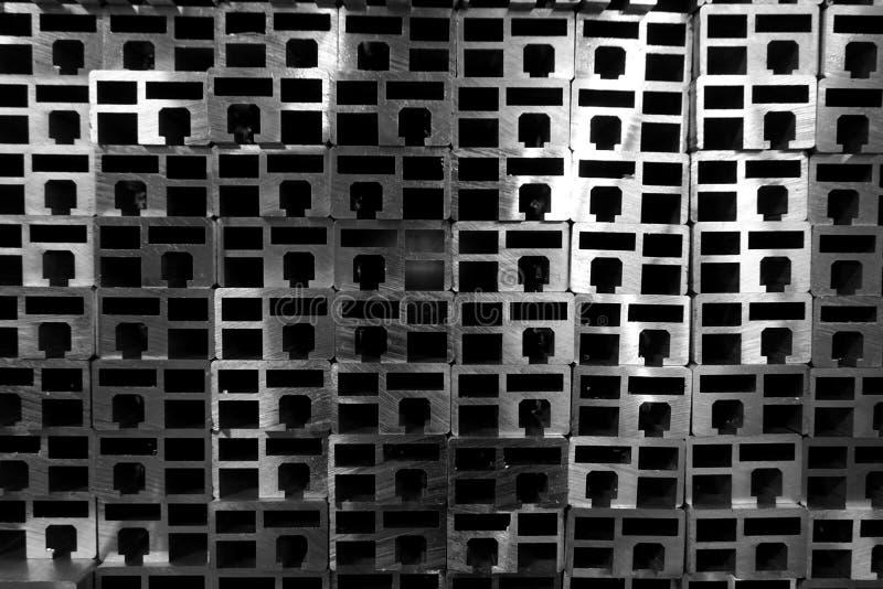 Pila de fundición de aluminio fotos de archivo