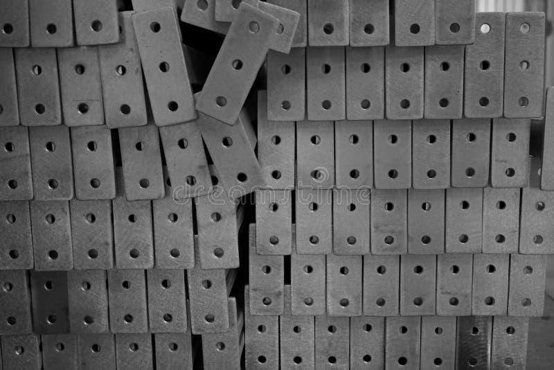 Pila de fundición de aluminio foto de archivo
