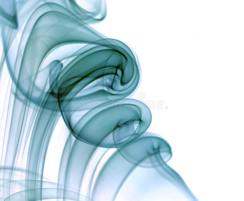 Pila de humo azul foto de archivo libre de regalías