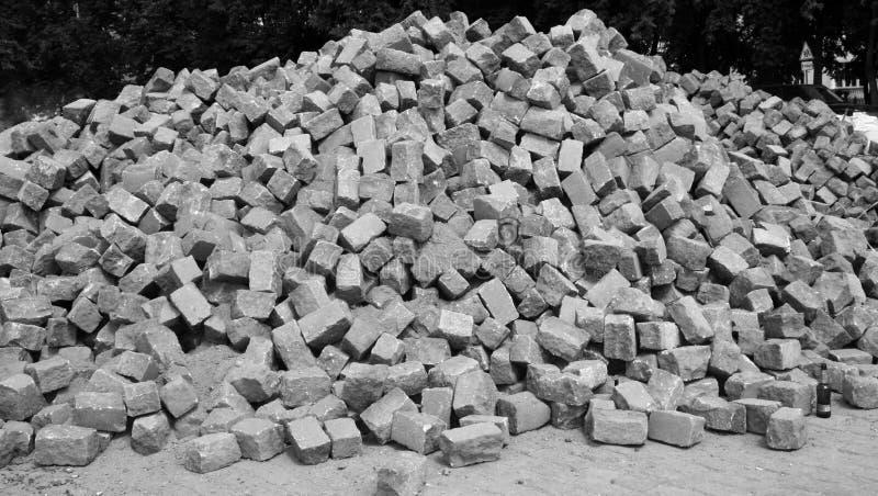 Pila de la piedra fotos de archivo libres de regalías