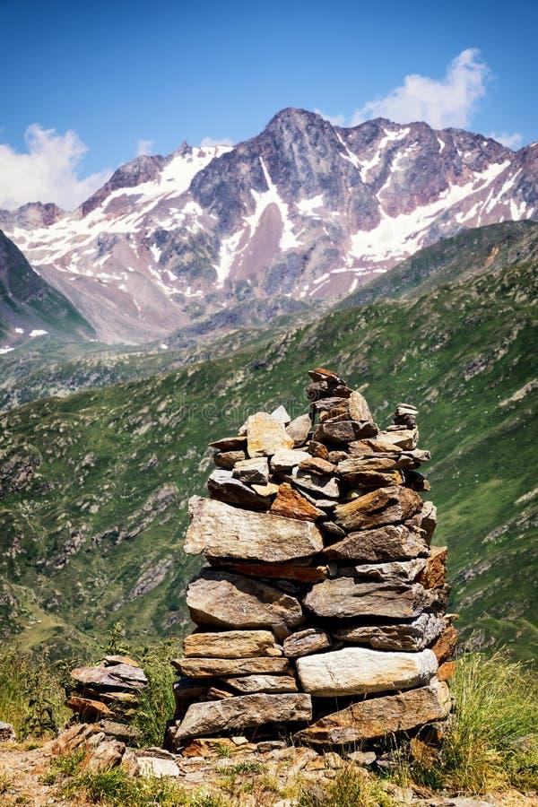Pila de la roca fotos de archivo libres de regalías