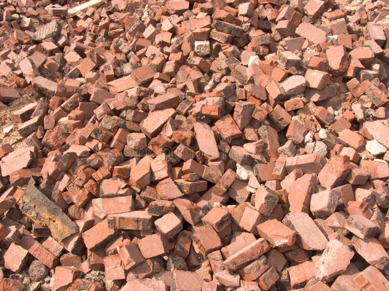 Pila de ladrillos foto de archivo libre de regalías