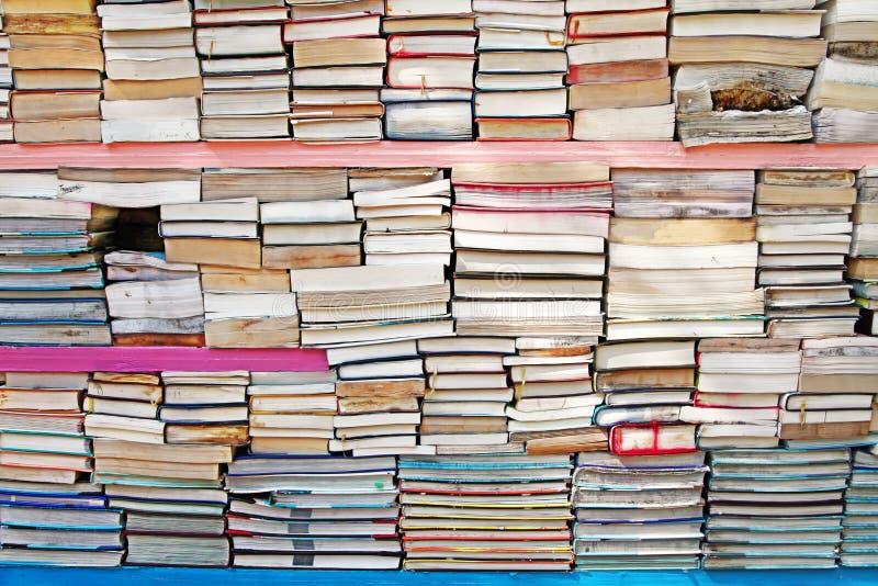 Pila de libro imagenes de archivo
