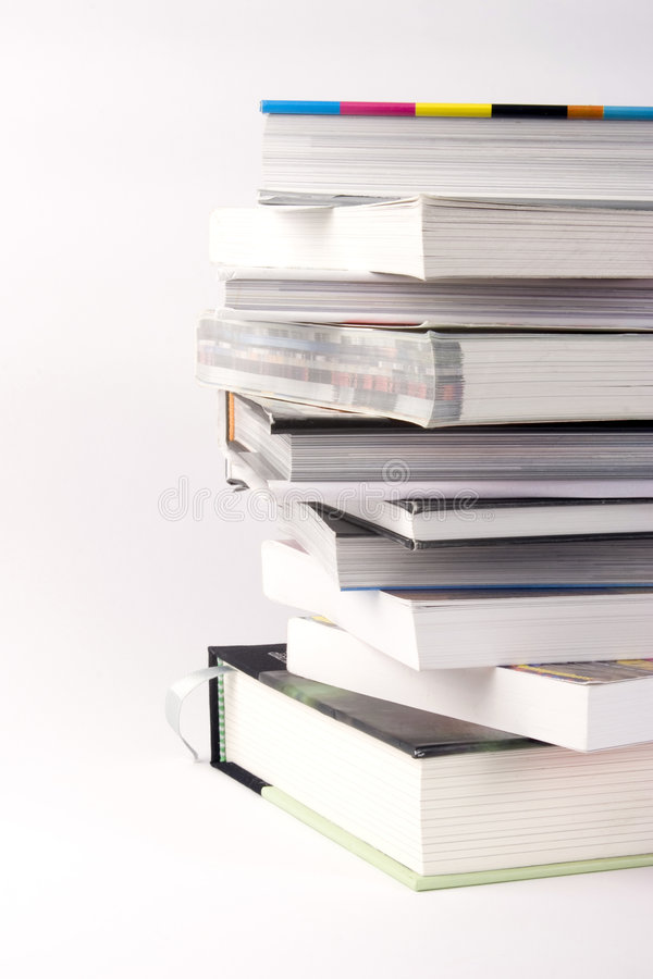 Pila de libros foto de archivo