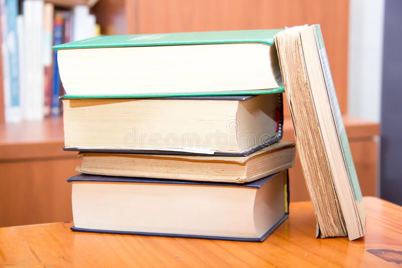 Download Pila de libros foto de archivo. Imagen de aprenda, biblioteca - 44858524