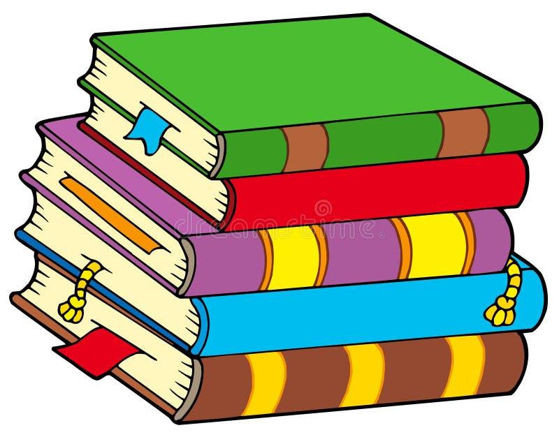 Pila de libros coloridos libre illustration