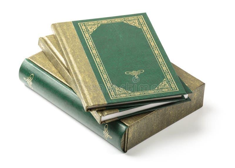 Pila de libros y de cubiertas de libro fotografía de archivo libre de regalías